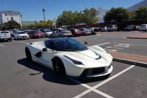 white ferrari laferrari aperta south africa