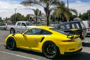pts racing yellow porsche 991 gt3 rs south africa