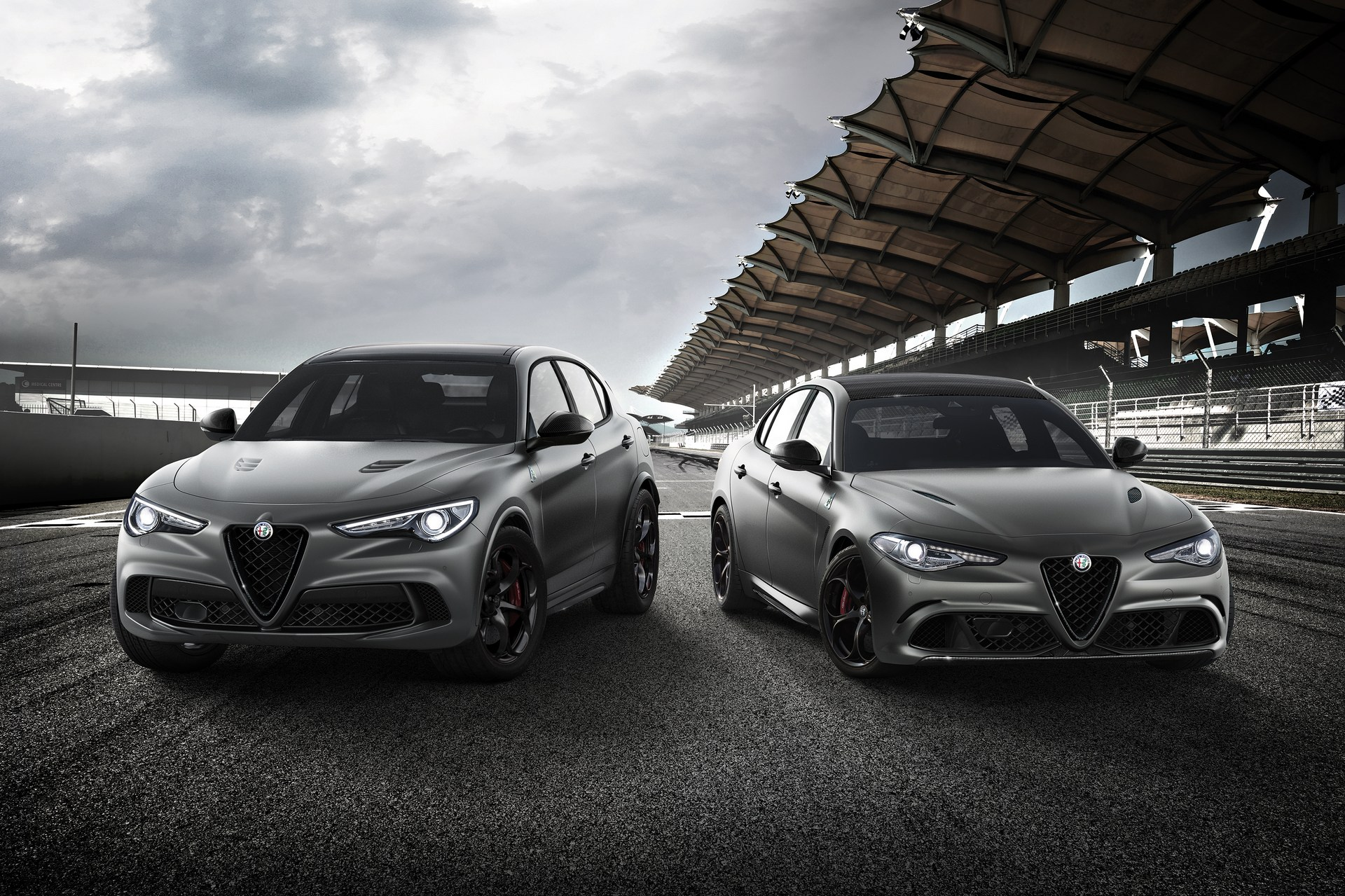 alfa romeo giulia and stelvio nurburgring editions going to geneva