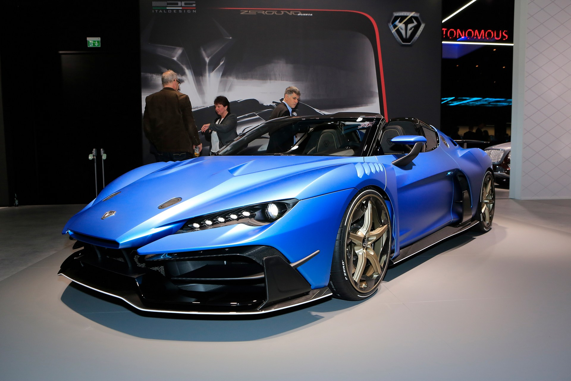 Italdesign Zerouno Duerta Official And Limited To 5 Units
