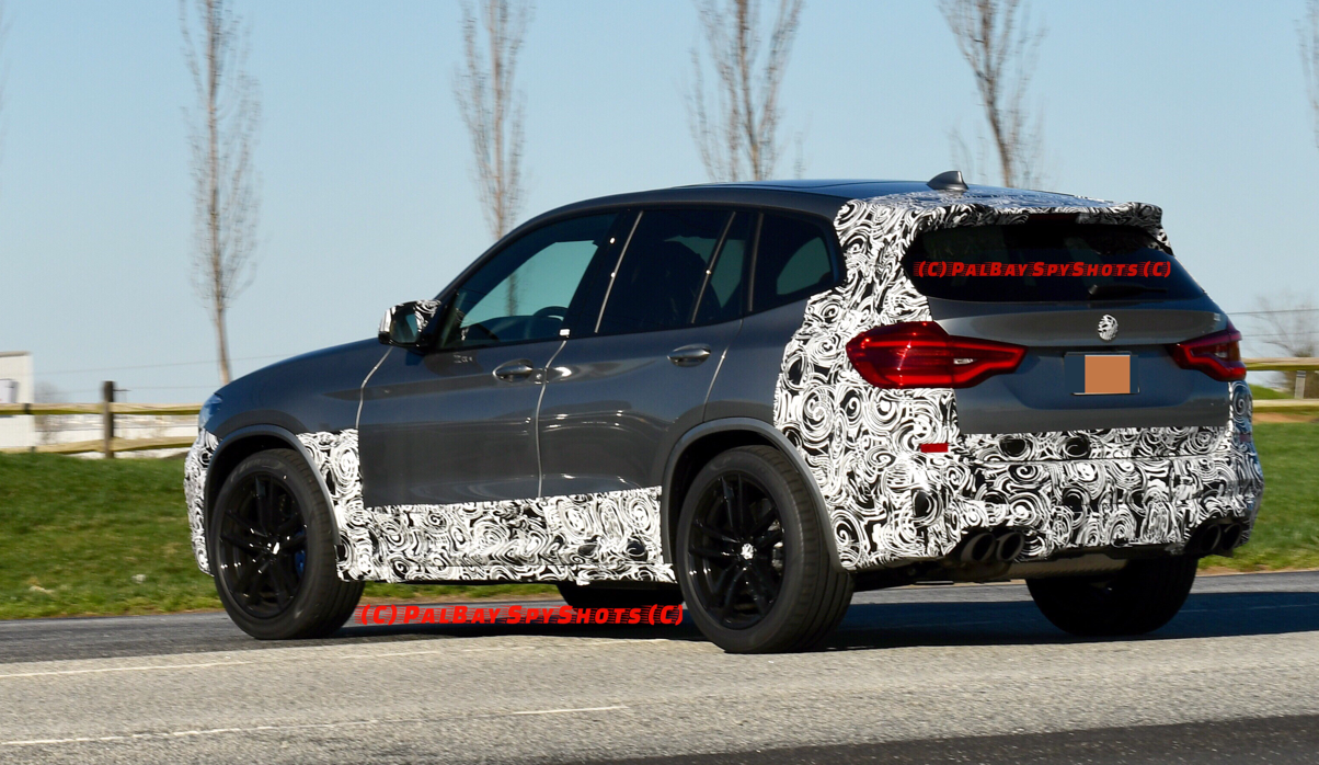 Bmw X3 M Spotted In Usa Sporting Donington Grey