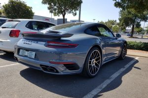 grey porsche turbo s south africa