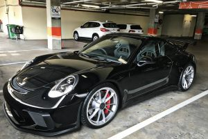 black porsche 991.2 gt3 south africa