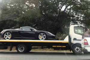 black porsche carrera gt south africa