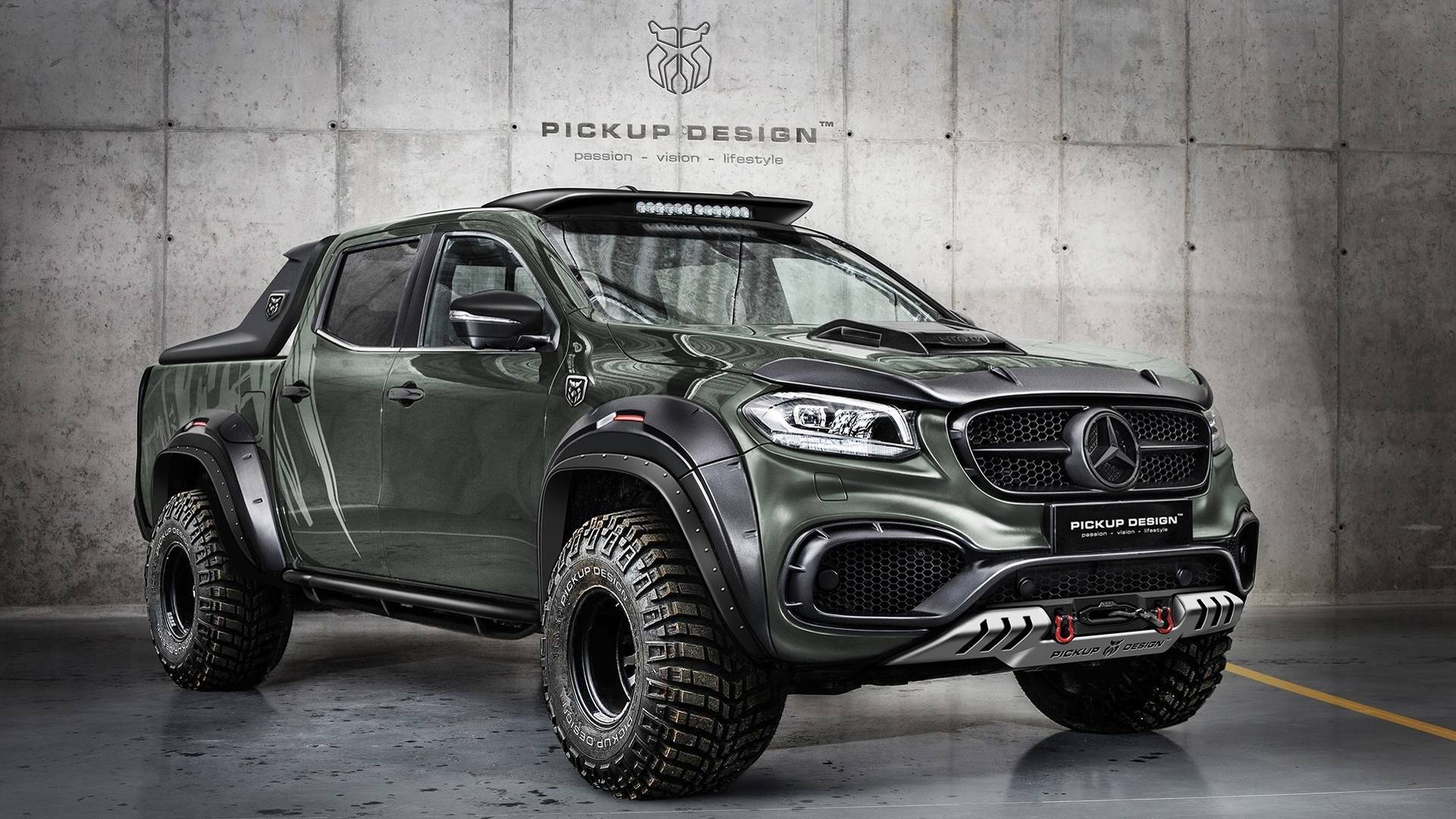 Carlex design turn mercedes benz x class into bad a bakkie for Mercedes benz x class price