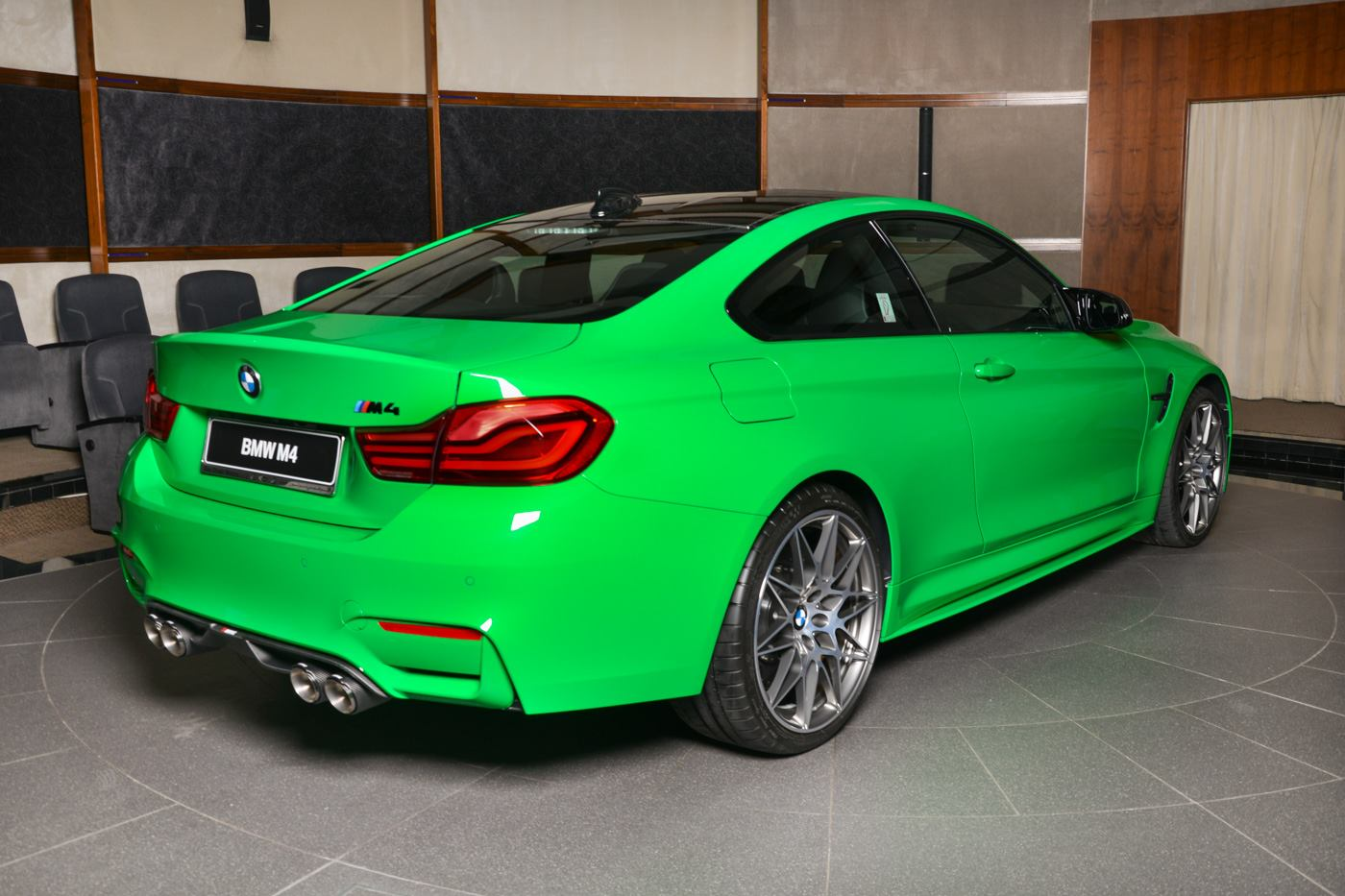 Signal Green Bmw M4 Competition Pack Is Scintilating
