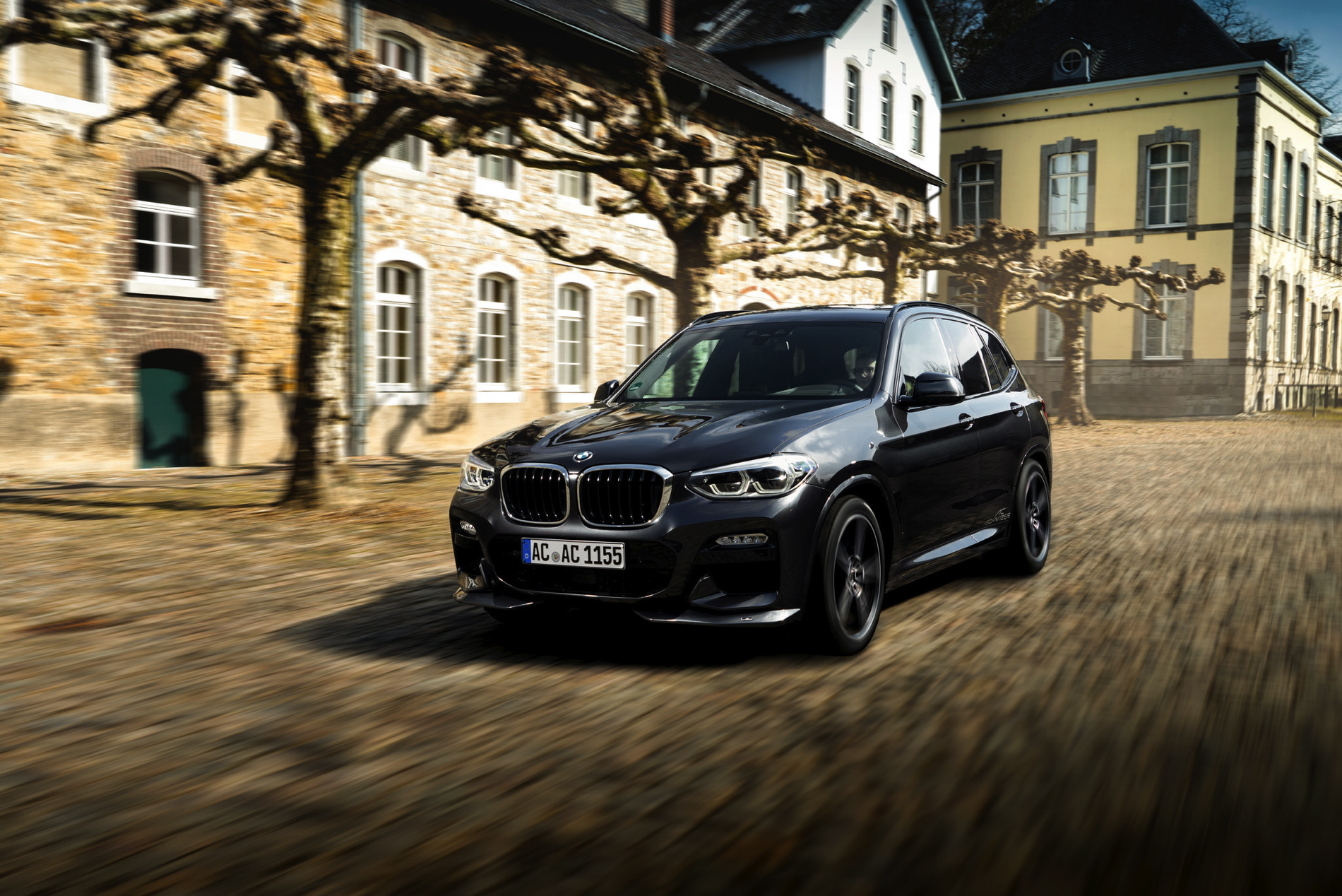 AC Schnitzer Give New BMW X More Power And Meaner Looks - Schnitzer