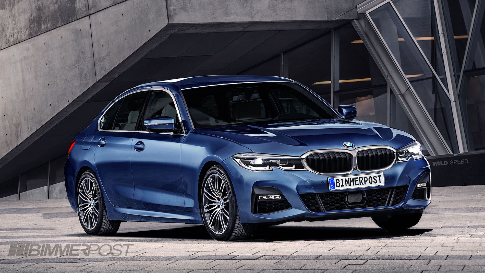 G20 Bmw 3 Series Rendered After Latest Spy Shots