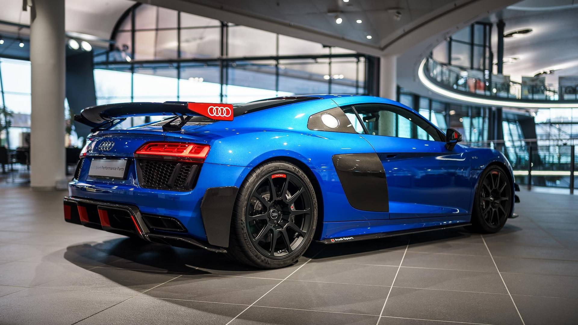 Audi Performance Parts Give R8 V10 Plus Race Car Looks