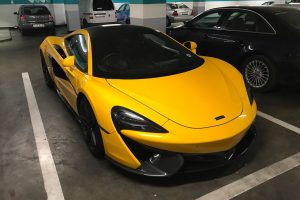 yellow mclaren 570s south africa