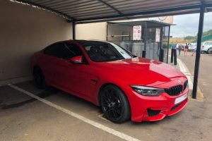 ferrari red bmw m4 south africa