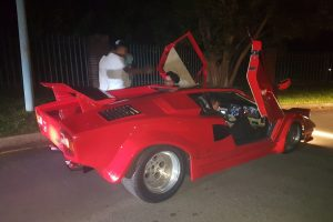 red lamborghini countach south africa
