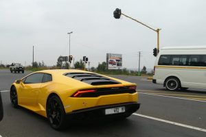 yellow lamborghini huracan south africa