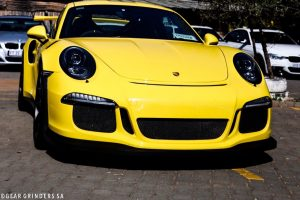 yellow porsche gt3 rs south africa
