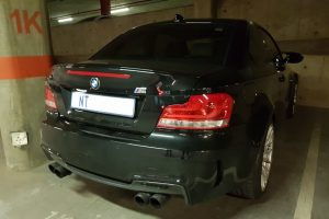 black bmw 1m south africa