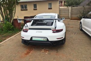 white porsche 991 gt2 rs south africa