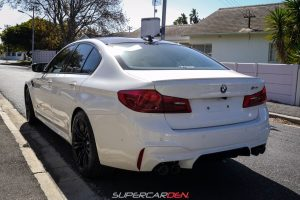 white bmw m5 south africa