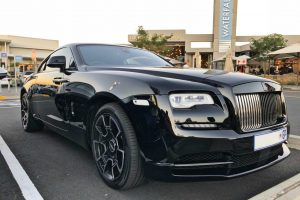 rolls-royce wraith black badge south africa