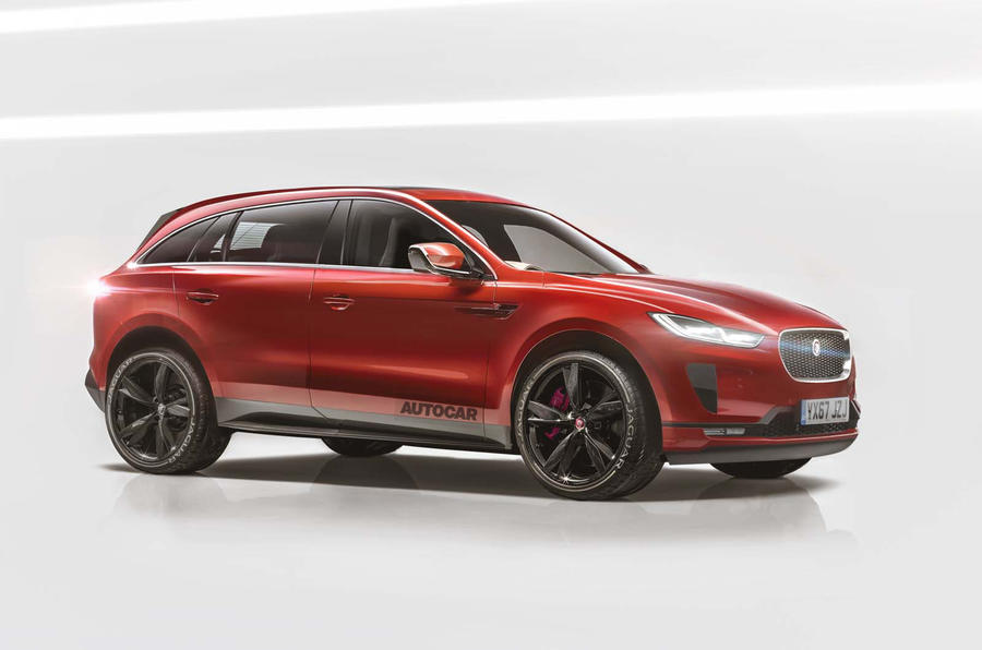jaguar j pace coming to take on the macan. Black Bedroom Furniture Sets. Home Design Ideas