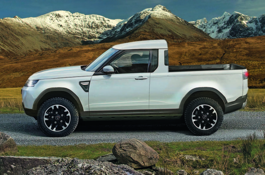 Land Rover Defender Pick-Up On The Cards To Rival X-Class