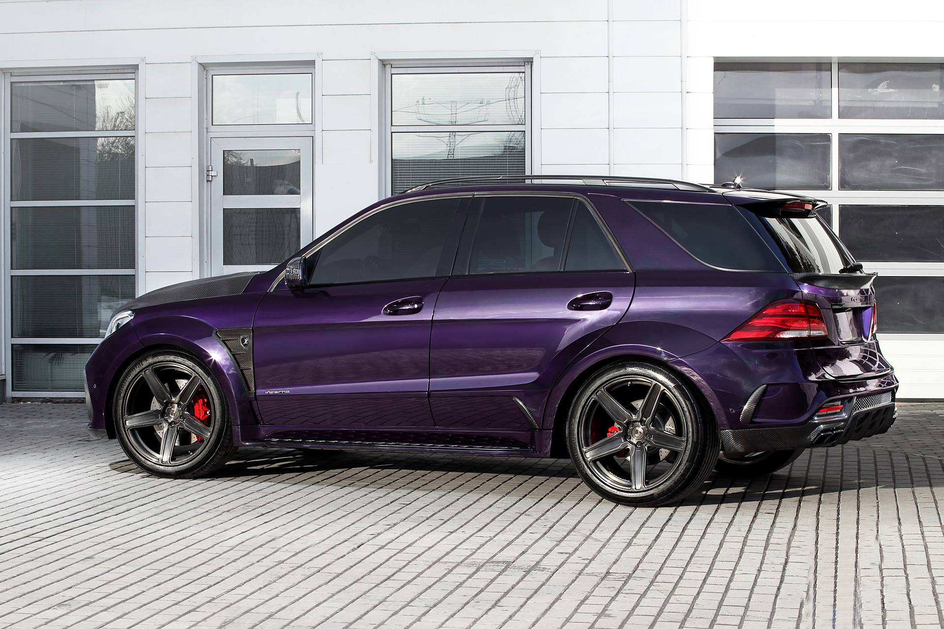 S Class Coupe >> Purple-Tastic Mercedes-AMG GLE 63 S Inferno by TopCar