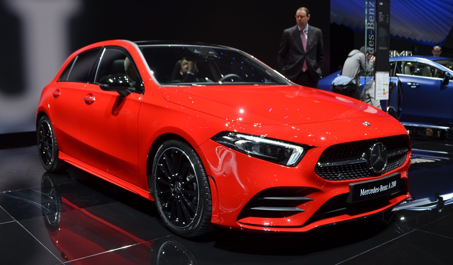 mercedes amg a35 to take on golf r with 300 hp 223 kw. Black Bedroom Furniture Sets. Home Design Ideas