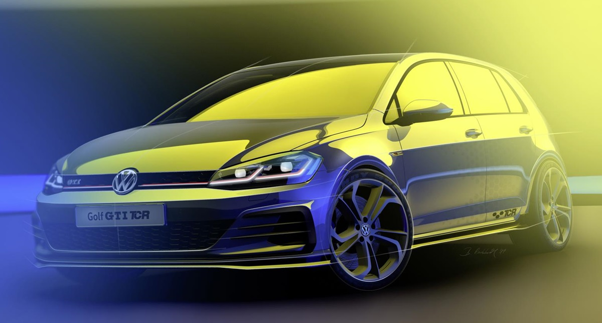 Volkswagen Golf Gti Tcr Coming With 286 Hp 213 Kw