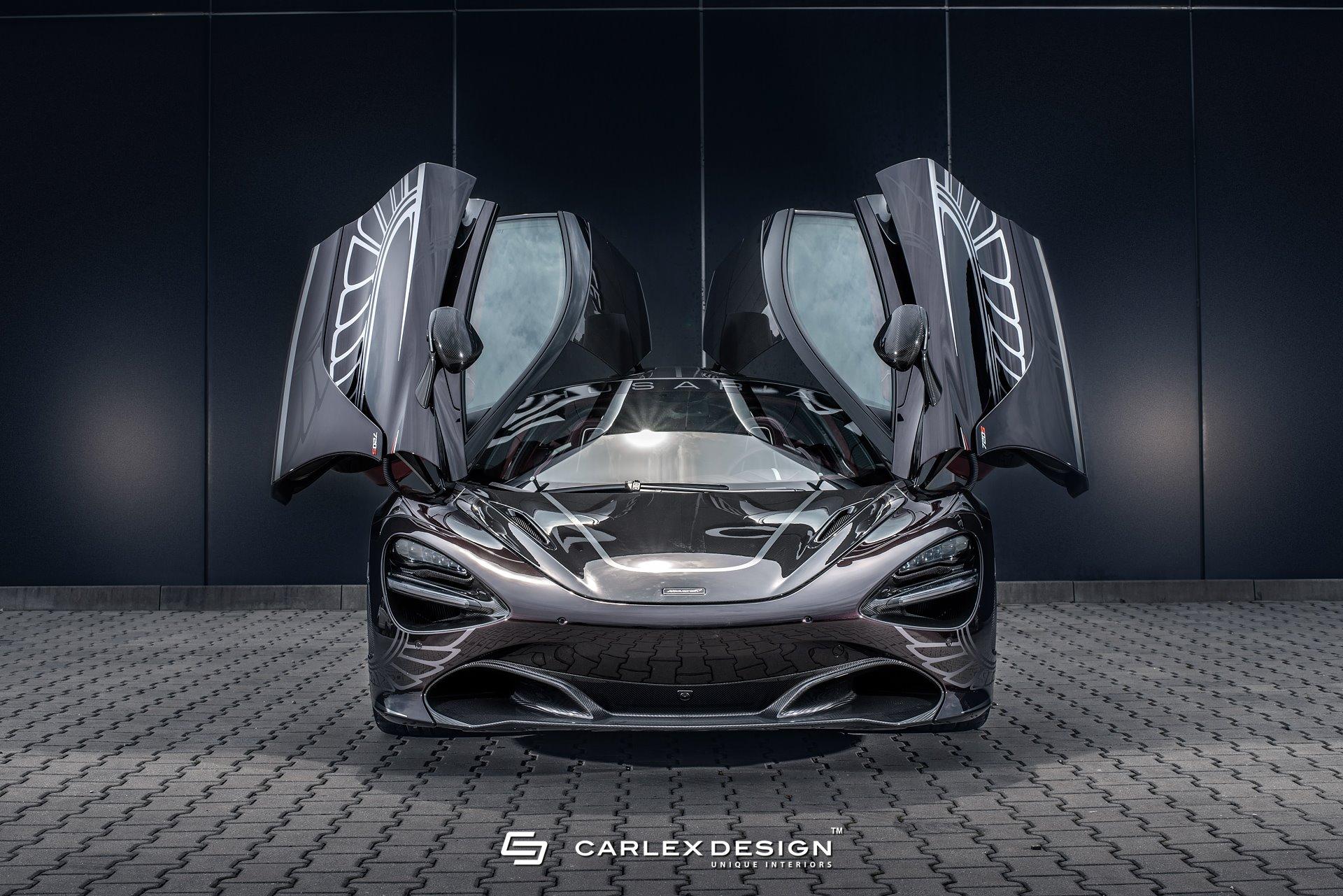 Carlex Design McLaren 720S Interior Is Interesting To Say ...