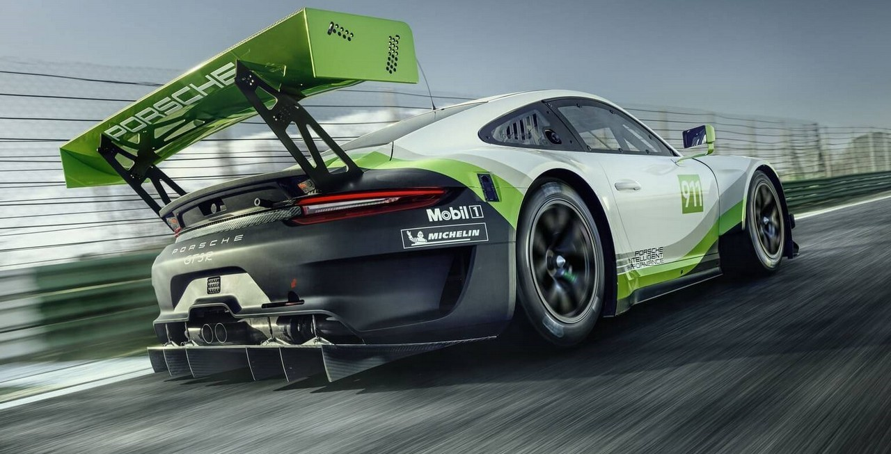 Porsche S New 911 Gt3 R Customer Race Car Revealed