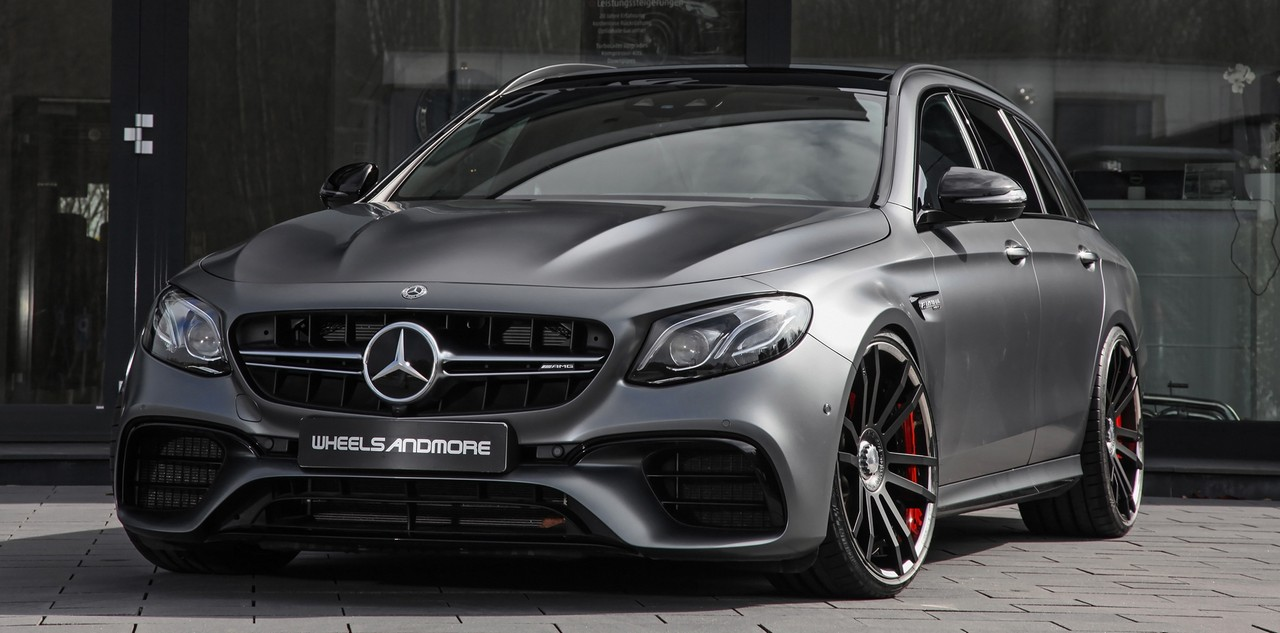 Wheelsandmore Mercedes-AMG E63 S Pumps Out 712 HP (530 kW)