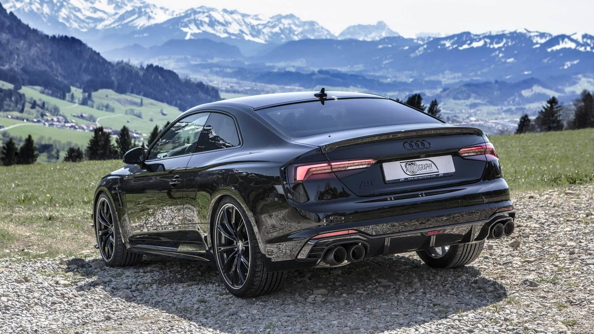 1 Of 50 Abt Audi Rs5 R Looks Mesmerizing Murdered Out