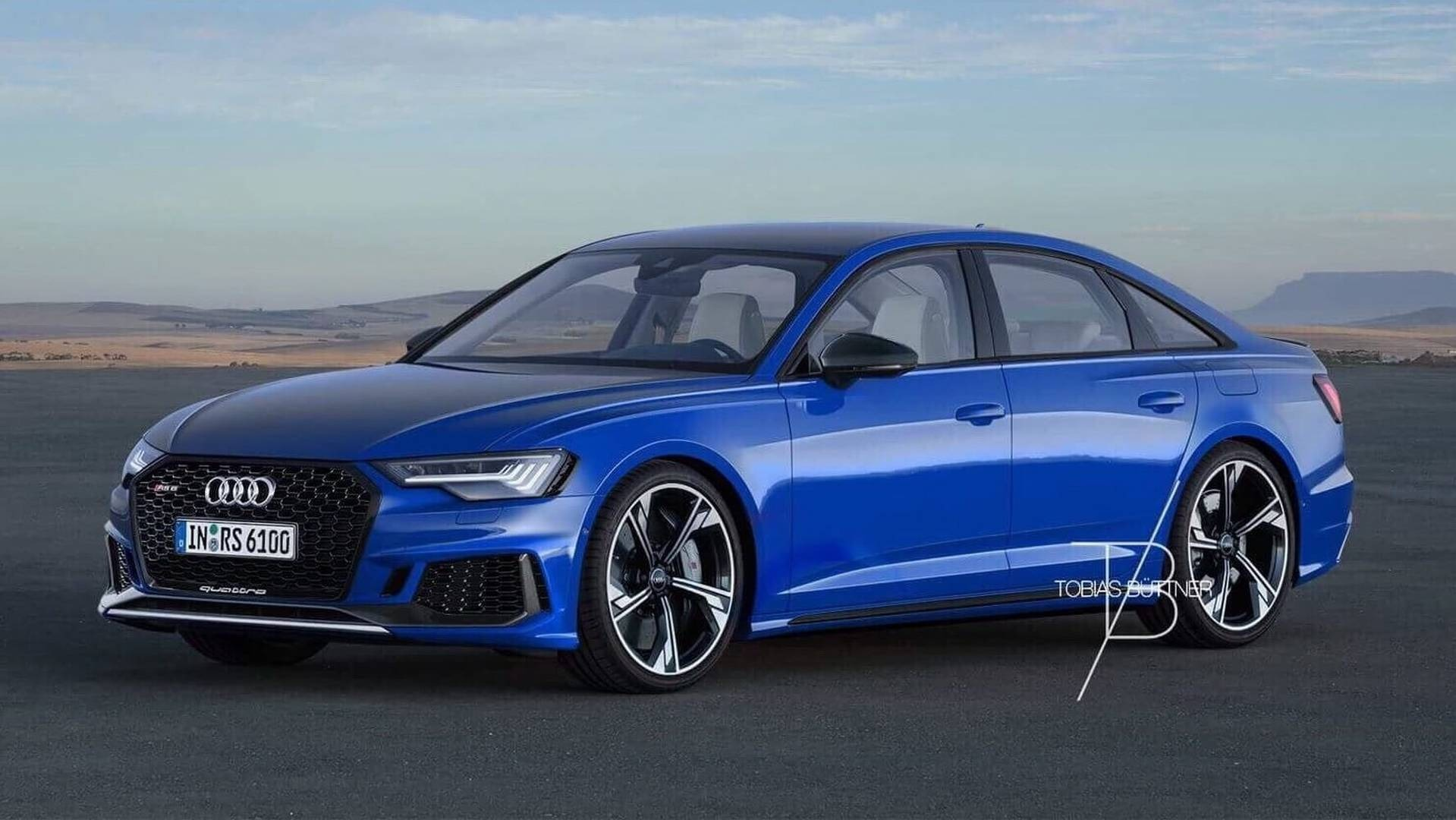Rumours Of C8 Audi Rs6 Sedan Spark Rendering