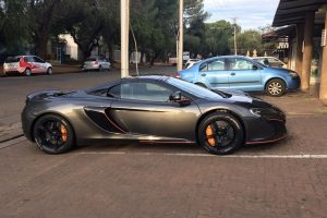 mclaren 650s spider south africa