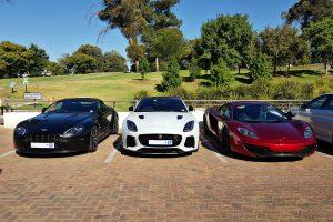 aston martin vantage jaguar ftype svr mclaren 12c south africa