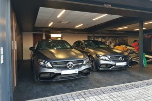 two mercedes-amg c63 s sedan south africa