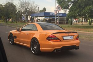 orange mercedes-benz sl65 amg south africa