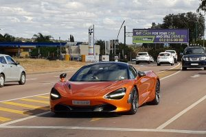 orange mclaren 720s south africa