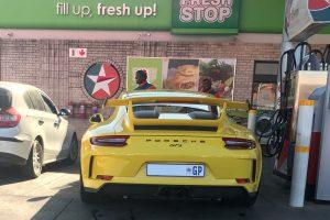 yellow porsche 991.2 gt3 south africa