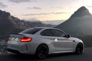white bmw m2 south africa cape own table mountain
