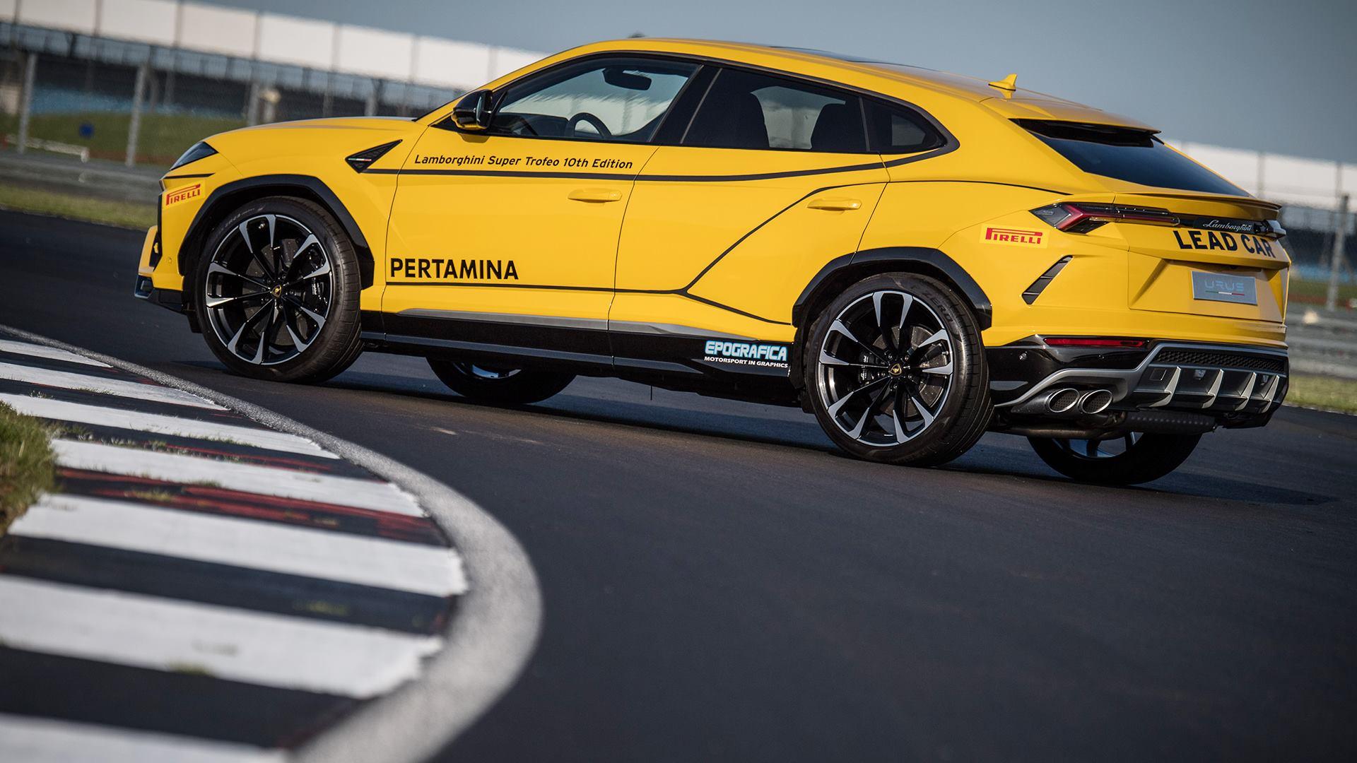 Lamborghini Urus Looks Ready To Lead The Super Trofeo Series