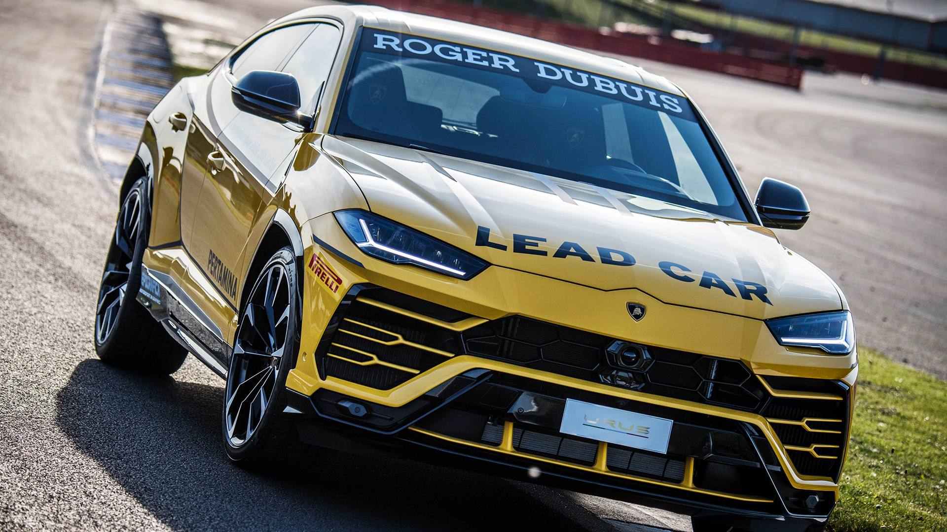 Lamborghini Urus Looks Ready To Lead The Super Trofeo Series