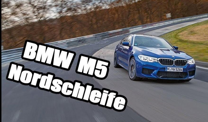 New BMW M5 Manages 7:38 Nurburgring Lap