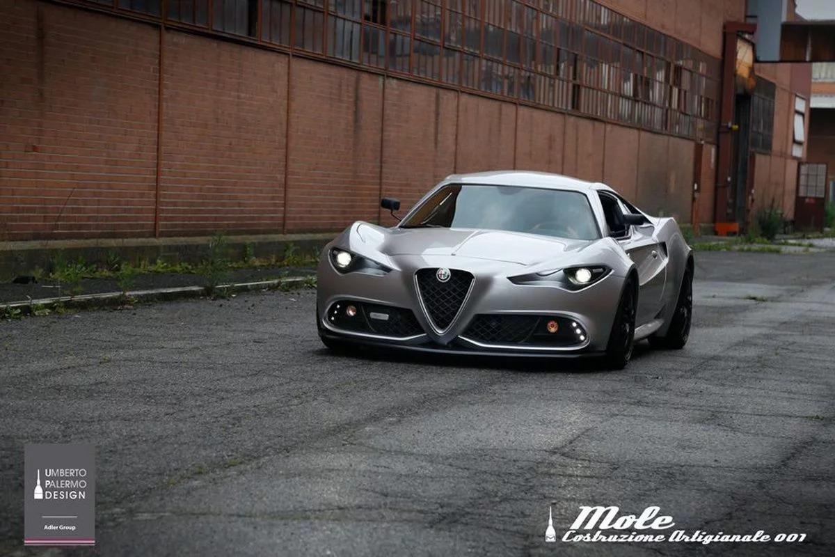 Alfa Romeo Giulia >> Mole Automobile Build One-Off Alfa Romeo 4C Called Mole ...