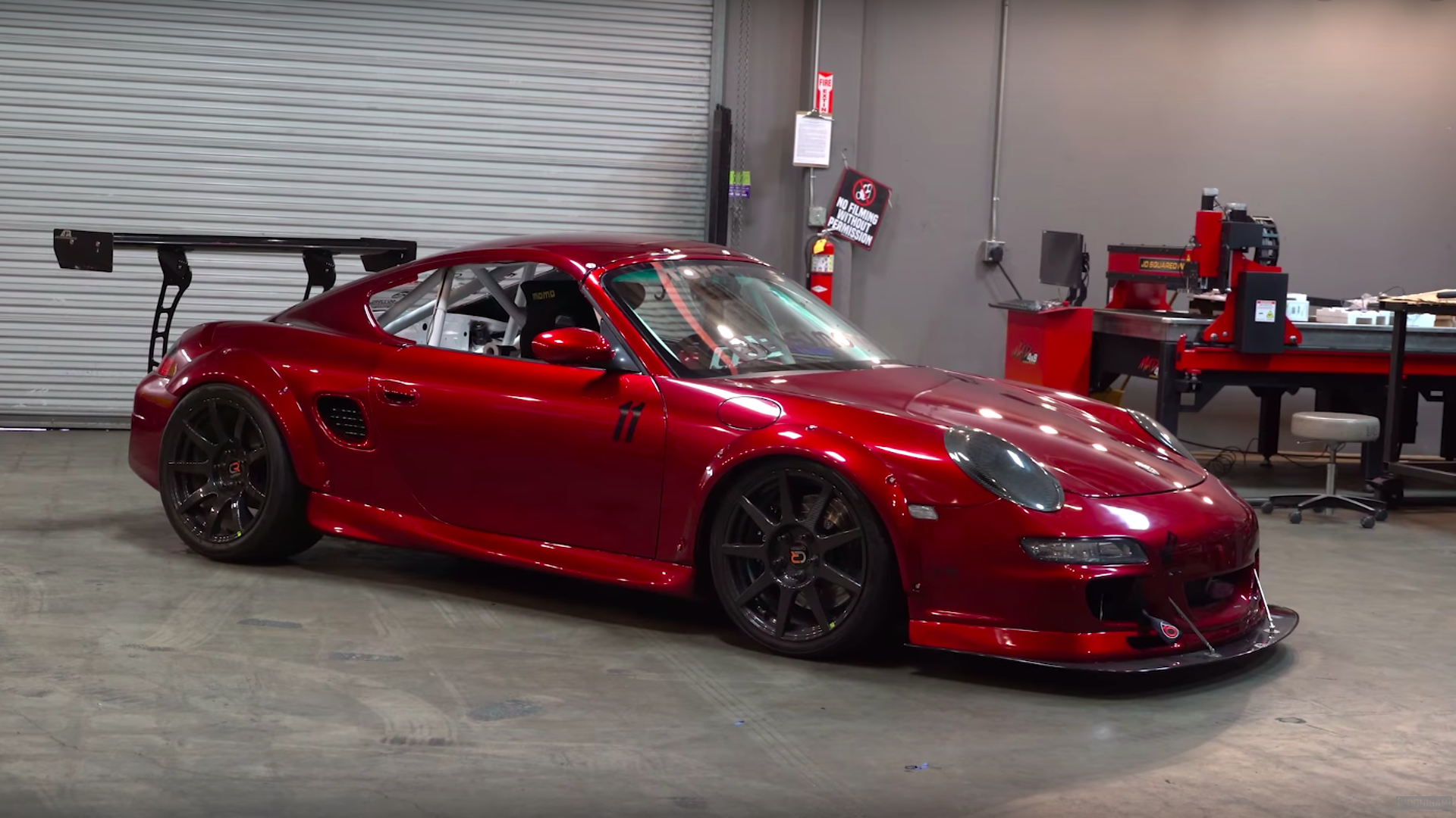 This Porsche Boxster Is A Twin-Turbo Single-Seater Track ...