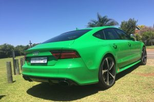 green audi rs7 south africa