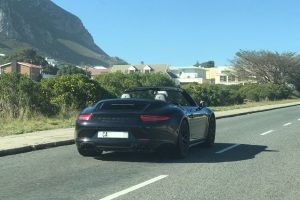 porsche cabriolet cape town south africa