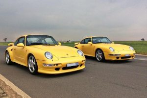 yellow porsche 996 turbo and turbo s south africa