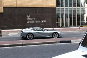 silver ferrari 812 superfast south africa