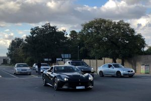 black ferrari f12 south africa