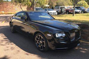 rolls royce wraith black badge south africa
